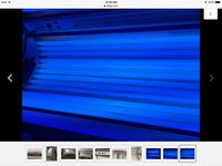 blue and black tanning bed Baltimore, 21236