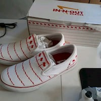 In N Out slip ons Size 10