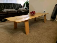 Modern Contemporary Wooden Bench/Coffee Table Prince George's County, 20740