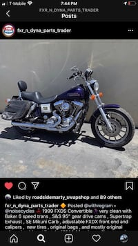 1999 Harley Davidson FXDS Convertible