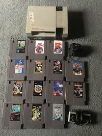 NES system with 14 games 2320 mi