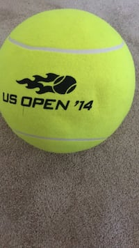 US Open giant tennis ball. Looks Untouched Virginia Beach, 23462