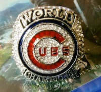 Chicago Cubs World Series Ring 2016 Laneville, 75667