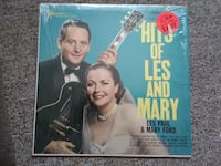 Hits of Les Paul and Mary Ford 1966 Vinyl Record Album Orlando