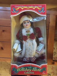 doll in white and red dress San Antonio, 78250
