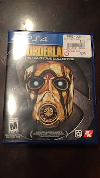 Borderlands 2 ps4 game case with game