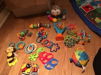 assorted learning toys