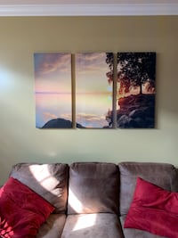 3 Piece Photographic Print on Canvas Alexandria, 22309