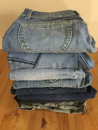Jeans bundle from size 6, 25 and 26,  Montréal, H4B 2Z6