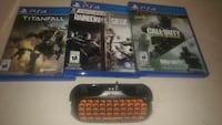 three assorted PS4 game cases Québec, G3G