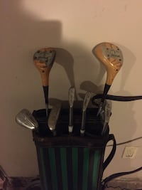Lori Miller golf clubs 3, 5, 7, 9 and putter, 1 and 3 wood Ville Platte