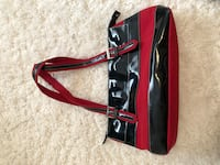 black and red leather crossbody bag Dearborn Heights, 48127