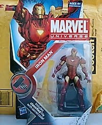 Marvel Universe Iron Man figure *Mint Fairfield