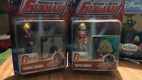 Mobile Suit Gundam Clawle Hamon and Sayla Mass figure packs