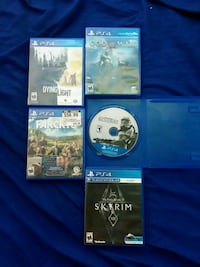 four assorted PS4 game cases Oceanside, 92054
