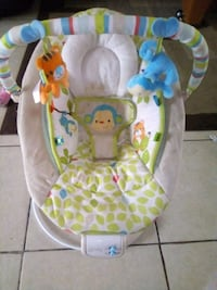 Baby swing, changing table, bouncer like new  Merced