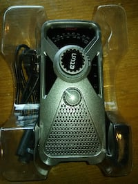 Eton Solar/Crank powered charger/radio Frederick