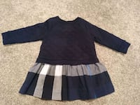 Burberry beautiful dress, 9 months, like new  Surrey
