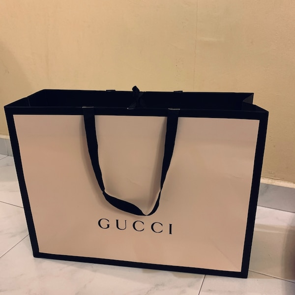 e148615ba98 Used Large Gucci Paper Bag for sale in Hougang - letgo