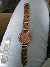 Rose gold fossil watch Palm Bay, 32905