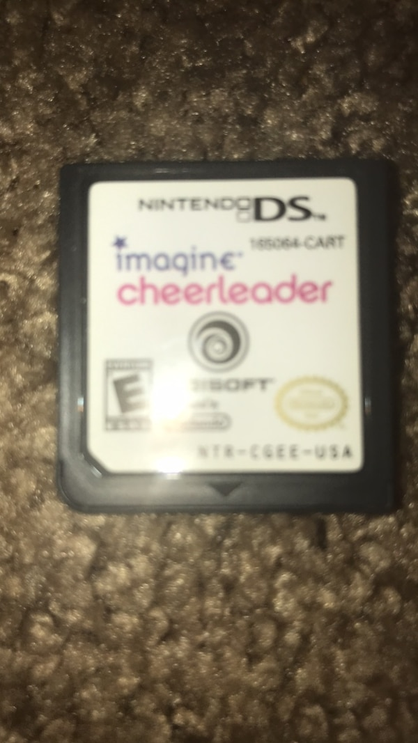 black and white Nintendo DS game cartridge