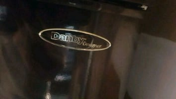 Black Danby designer fridge