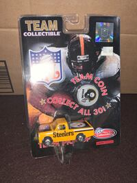 1998 PITTSBURGH STEELERS White Rose diecast 1:64 pickup truck w/coin
