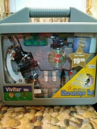 Vivitar 900x microscope set New York