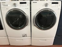Samsung Front load washer and gas dryer set  Owings Mills, 21136