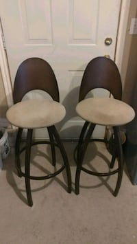 2 metal bar stools Midvale