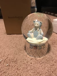 Reed and Barton Baby Snowglobe Reisterstown, 21136