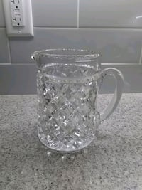 Crystal water pitcher Toronto