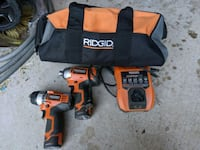 Ridgid drill and impact set Vaughan, L4J 9E1