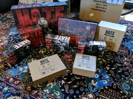 HATE by CMON all extras (no art book) GREAT TREES