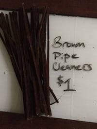 Brown pipe cleaners Ames, 50010