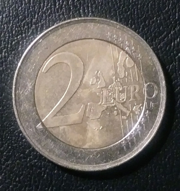 2001 Spanish Gold and Silver 2 Euros 1