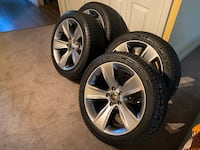 Dodge charger brand new rims and tires Surrey, V4N