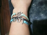 silver-colored and blue gemstone bracelet Morristown, 37813