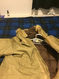 House of sexton parka jacket size L Delta