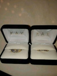 Lady's diamond engagement ring and wedding band. Maysville, 41056