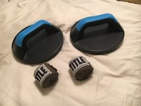Two rotating push-up holders and reusable green boxing tape Pembroke Pines, 33024