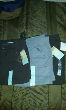 3, pairs of womens capris size 14