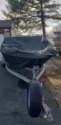 Black boat tarpaulin cover College Park, 20783