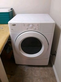 white front-load clothes dryer  Massapequa, 11758