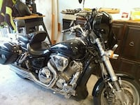 black and chrome touring motorcycle Milwaukie, 97222