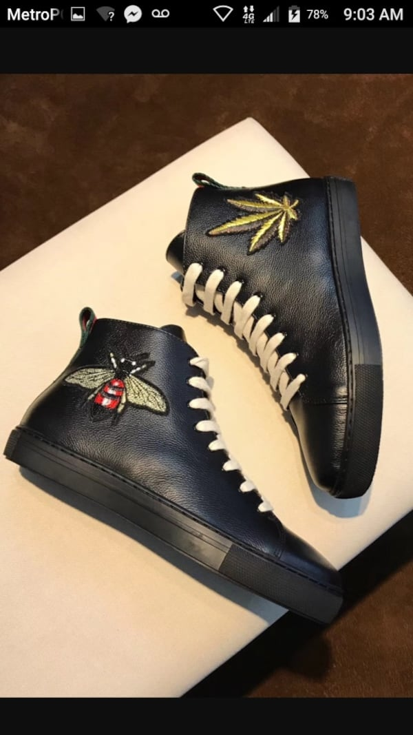 BY ORDER ONLY Preowned Gucci World Collection Sneakers size 6-12 275407c8-2865-41e9-8fdb-3f142463dced