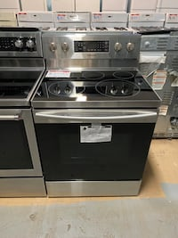 Samsung Glass top electric stove