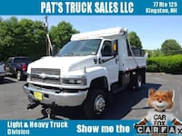 2008 Chevrolet C4500 Regular Cab 4WD DURAMAX DIESEL DUMP WITH ONLY 26K MILES KINGSTON