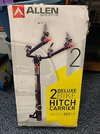 New Deluxe 2 Bike Hitch Mounted Carrier
