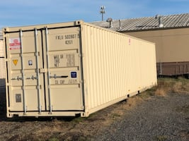 40' steel new storage container - cargo Container